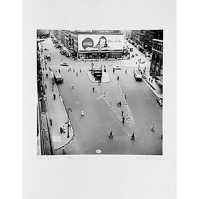 Rudy Burckhardt: Rudy Burckhardt Photos, 1981. Signed, Black & White Photos