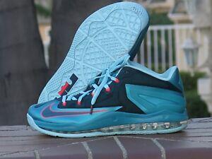 8446385743fff Nike Max Lebron XI Low South Beach Men s Basketball Sneakers 642849 ...