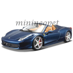 Image Is Loading BBURAGO 18 26017 FERRARI 458 SPIDER 1 24