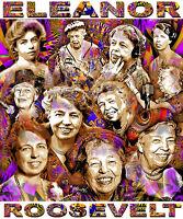 Eleanor Roosevelt Tribute T-shirt Or Print By Ed Seeman