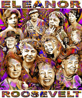 Eleanor Roosevelt Tribute T-shirt Or Print By Ed Seeman