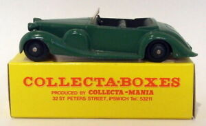 VINTAGE Dinky 38C-LAGONDA Sports-verde fornito in collectabox inserzione 2nd