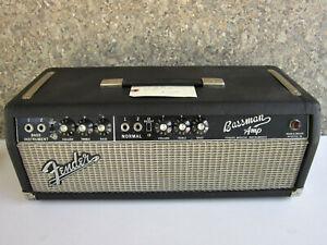 Fender-Bassman-Amp-Head-Vintage-1966-Fresh-From-the-Amp-Tech-Full-Cap-Job
