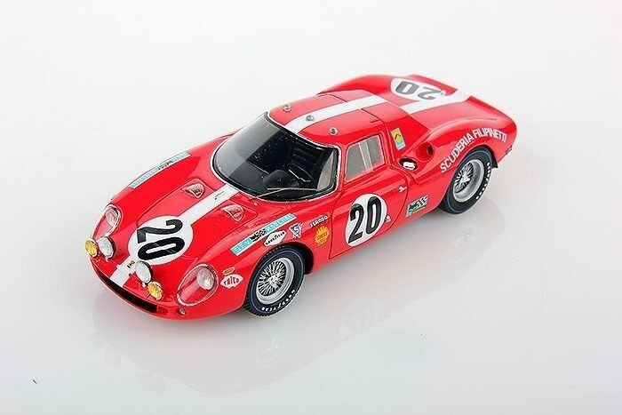 1 43  Lookintelligent Ferrari 250 1968 LeMans Muller Williams LSLM043  qualité authentique
