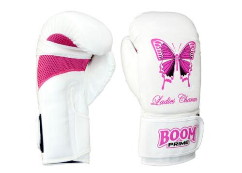 Donna Rosa Guantoni da pugilato Punch Bag Da Donna Da Palestra Calcio Pads Guanti da MMA MUAY THAI