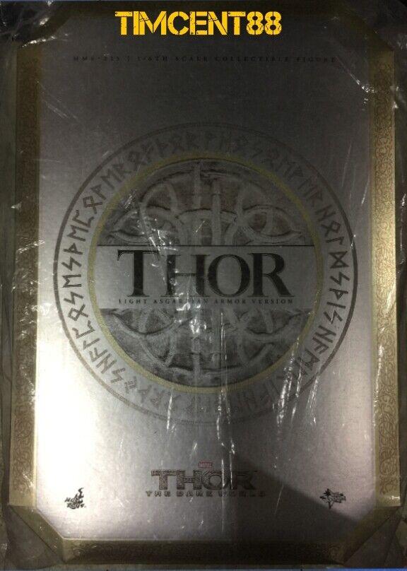 heta leksaker MMS225 förundras Thor Den Mörka världen 1  6 Ljusa Asgård Armor Ny