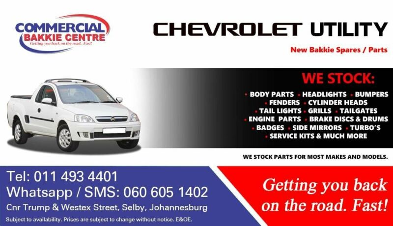 Chevrolet Utility Parts and Spares For Sale
