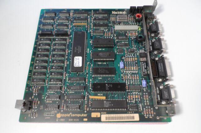 Apple Macintosh Motherboard 630-0101 128kb 1983 Original M0001 Clean Nice