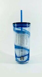 New-Starbucks-Summer-2020-Blue-Swirl-Glass-Cold-Cup-Tumbler-18oz