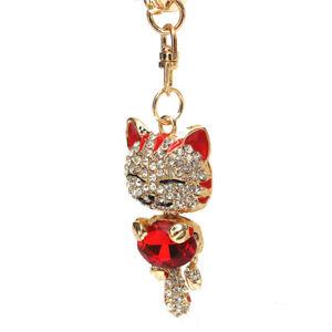 Rhinestone-Crystal-Keyring-Charm-Pendant-Purse-Bag-Key-Ring-Chain-Keychain-X7J9