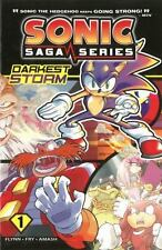 Sonic Saga #1: Darkest Storm by Ian Flynn c2012 VGC Paperback