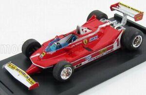 BRUMM 1/43 FERRARI | F1  312T5 N 1 ARGENTINA GP 1980 J.SCHECKTER | RED