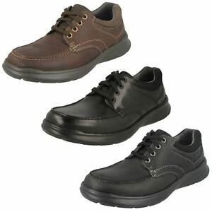 a9d4a4bebe912 Image is loading MENS-CLARKS-LEATHER-LACE-UP-SHOES-COTRELL-EDGE