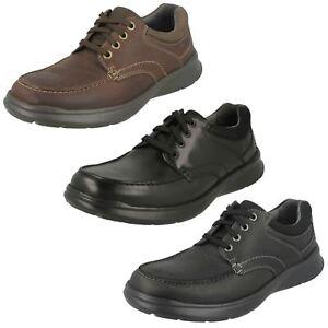 Zapatos Edge De Cotrell Piel Clarks Hombre Cordones Con 0OHTwFq5