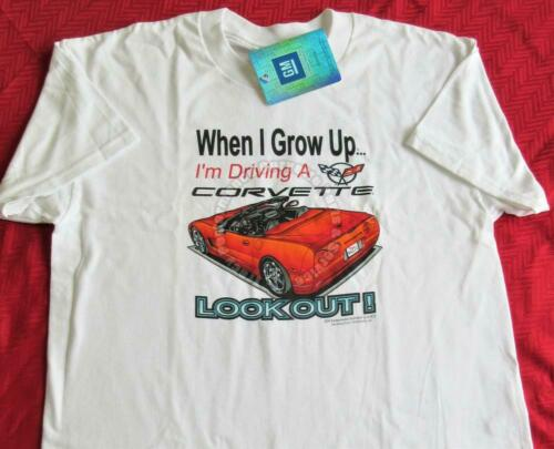 Details about  /4T Child C5 Corvette When I Grow Up T-Shirt *Clearance*