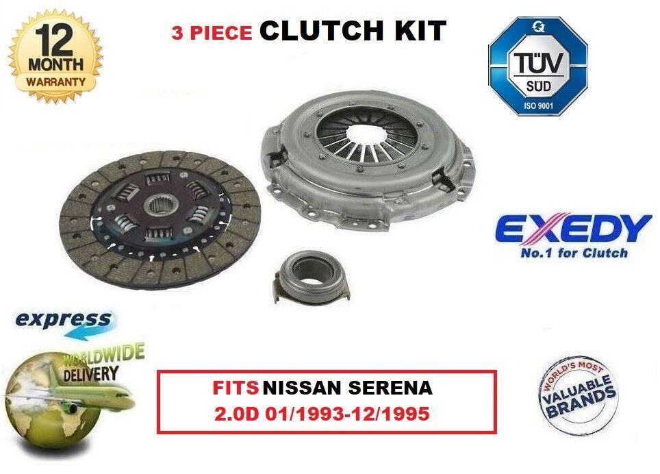 Für Nissan Serena C23 2.0d Ld20 01 1993-12 1995 Exedy Oe-Qualität