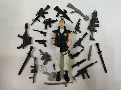 "3.75/"" Gi Joe Lanard the Corps Soldier#068w// Accessories Action Figure"