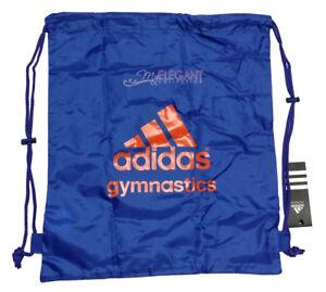 Image is loading Adidas-Gymnastics-Gym-Gear-Sports-Bag-Drawstring-Nylon- 55c86b85f7c79