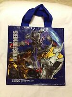 Transformers Tote Bag Tesco Hasbro Optimus Prime Autobots Dinobots Megatron Eco