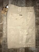 North River Outfitters Men's Khaki Shorts Size 40 Retails For $36.00