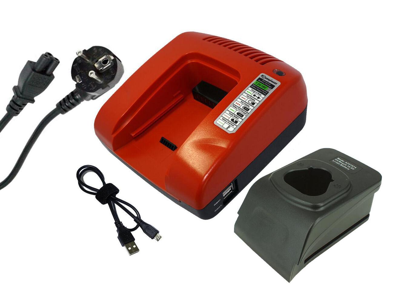 10.8V Ladegerät für Bosch CLPK31-120, CLPK41-120, FL10,GDR 10.8-LI, GMF 10.8 V-L