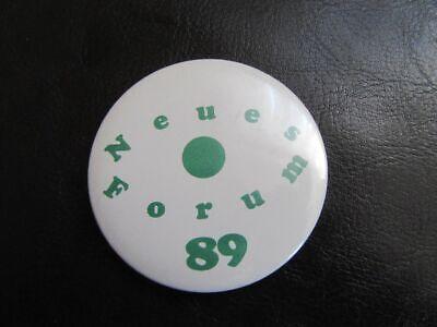 Diskret Neues Forum Ddr 1989-pin-button 2019 Offiziell