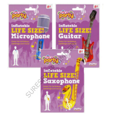 Inflatable Children Microphone Blow up Toys Fancy Dressing