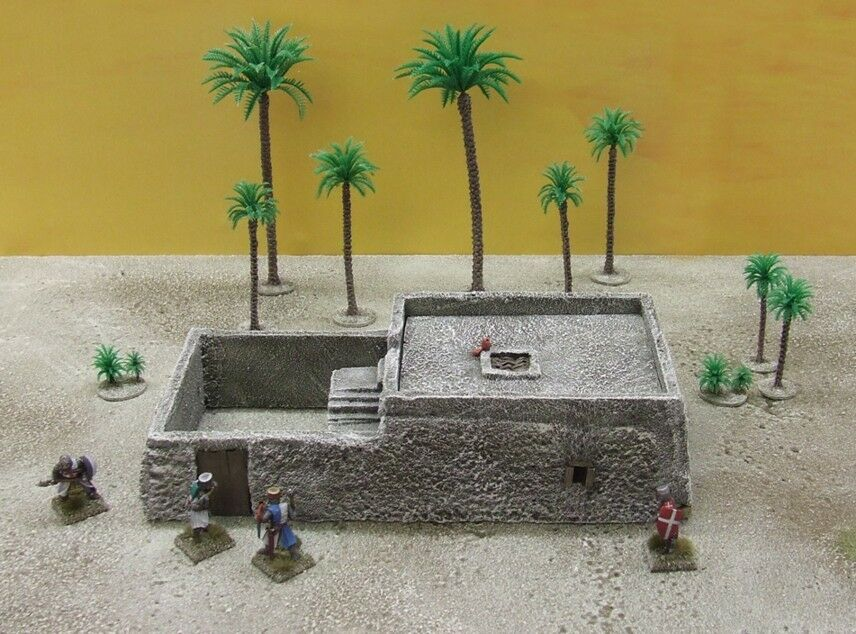 28MM MEDIUM 'ADOBE' - PAINTED TO COLLECTOR'S STANDARD