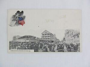 Vintage Postcard Hotel Luray Boardwalk Atlantic City New Jersey