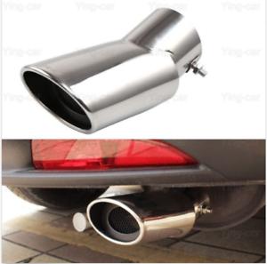 1pcs Double Exhaust Muffler Tail Pipe Tip Tailpipe For Honda HRV HR-V 2015-2019