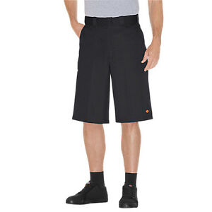 """Dickies 42283 13"""" Inseam Cell Phone Pocket Twill Work Uniform Shorts Size 28-60"""
