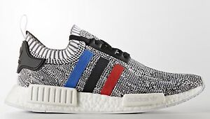 save off 11bc7 725e6 Details about Adidas NMD R1 PK Primeknit size 13.5 Red Blue White Tri-Color  BB2888 Ultra Boost