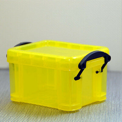 Home Affordable Practical Storage Box Case Container Organizer Plastic Mini Lid