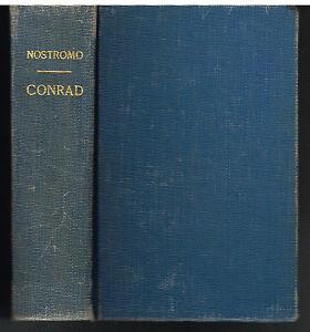 Nostromo-A-Tale-of-Seaboard-by-Joseph-Conrad-1905-Rare-Vintage-Book