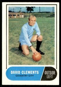 A&BC Football Green Back 1969 (B1) Dave Clements - Coventry City No. 167