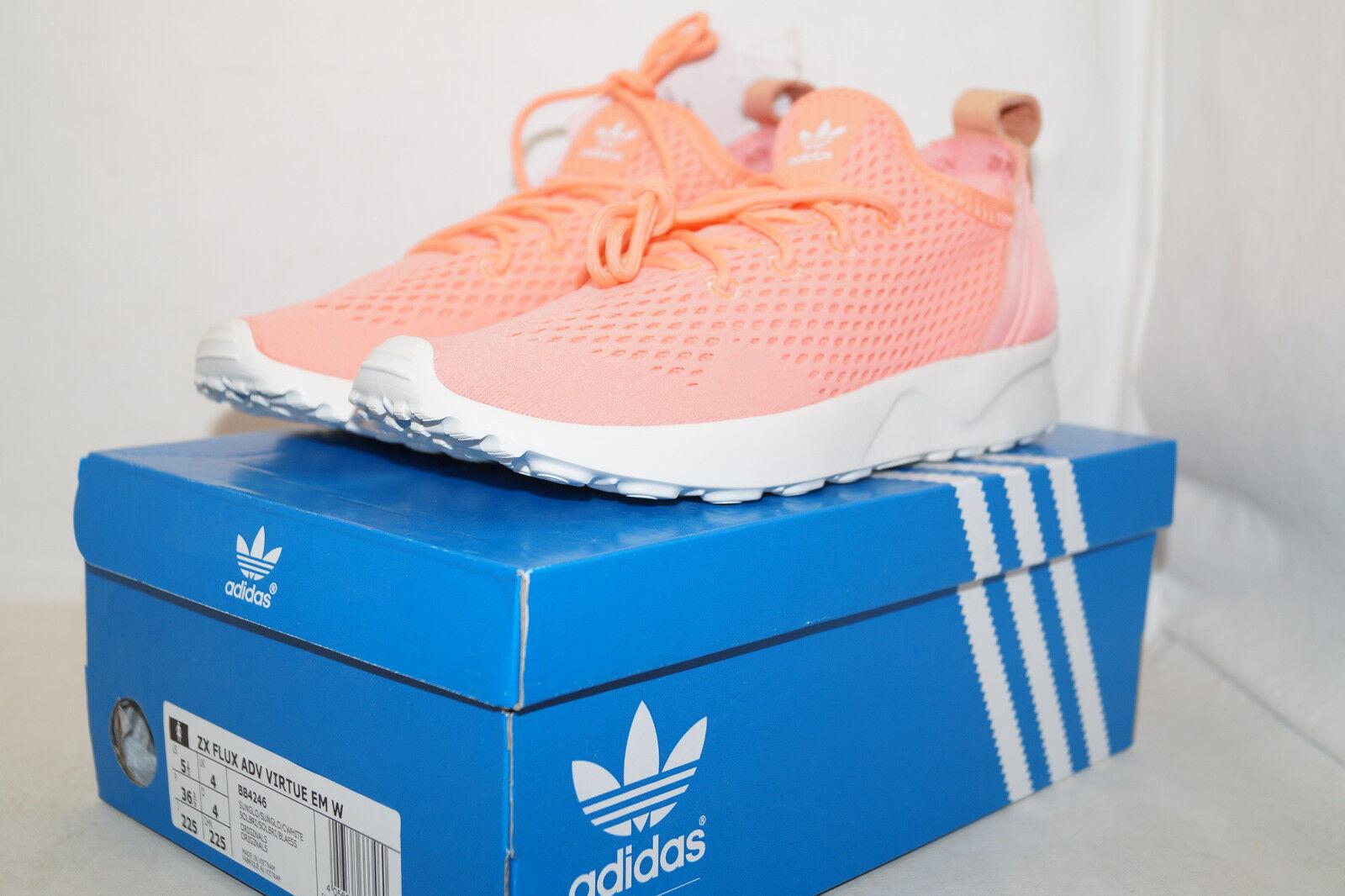 Adidas Originals ZX Flux señora ADV virtue WM wmns señora Flux UE 36 2/3 sunglow 777402