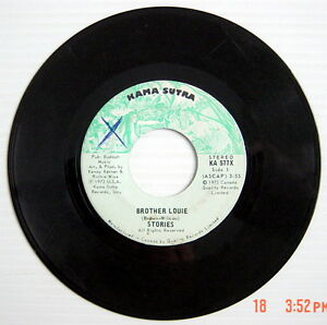 ONE-1973-039-S-45-R-P-M-RECORD-STORIES-CHANGES-HAVE-BEGUN-BROTHER-LOUIE