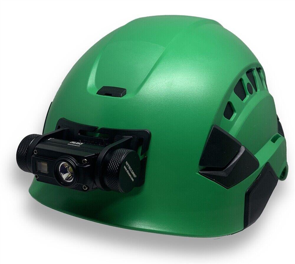 OPG 1000 Lumen Metal USB Headlamp with Night Vision Red  & Helmet Mount Kit HC65  factory direct sales