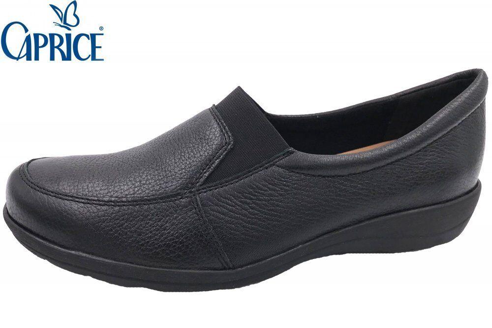 Caprice Damen Slipper Schwarz Weite H Schuhe 99-24602-003
