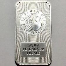 Perth Mint 1 oz Australian 999 Silver Kangaroo Bar