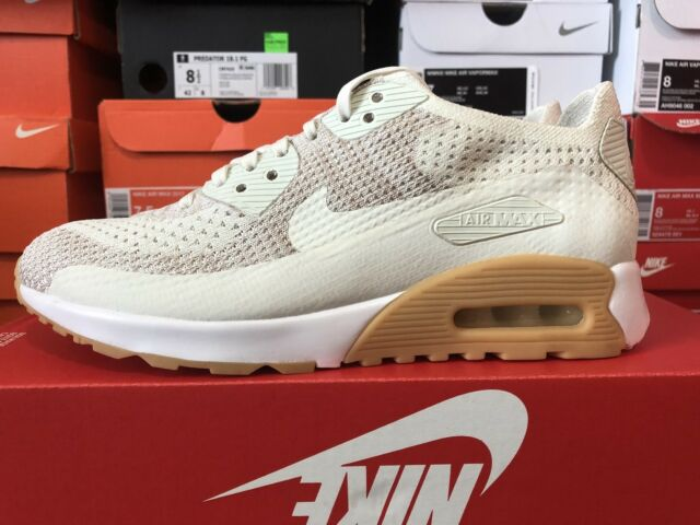 Nike Air Max 90 Ultra 2.0 Flyknit Womens Running Shoes Sz 8 NEW 881109 106