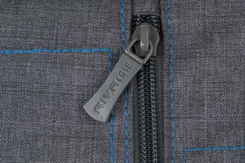 Rivacase 7502 Colt Protección Bolsa funda de silicona canvas gris para cámara SLR