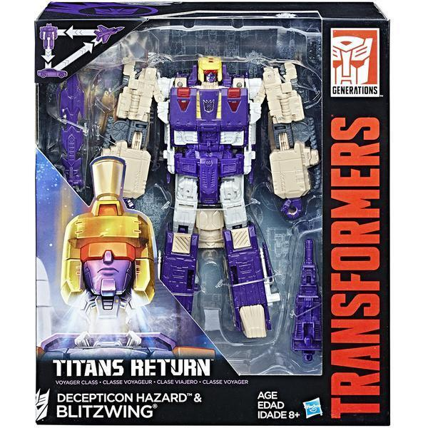HASBRO TRANSFORMERS GENERATIONS TITANS RETURN VOYAGER BLITZWING FIGURE
