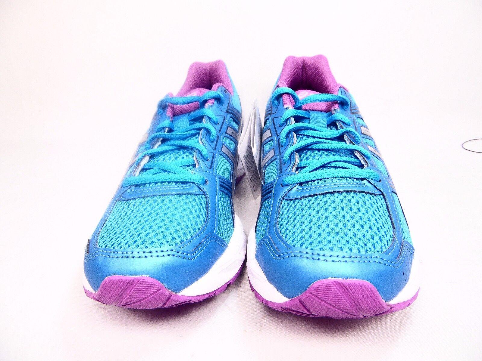 Asics de mujer mujer mujer Gel-Contend 4 Running zapatos Diva Azul Plata Orquídea tamaño 8 M  Precio por piso