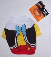 NWT Disney Pet Costume Medium - PINOCCHIO - Dog clothes shirt Halloween