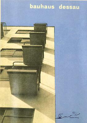 "Kunstpostkarte  Bauhaus - Herbert Bayer ""Umschlag zum Prospekt Bauhaus-Dessau"""