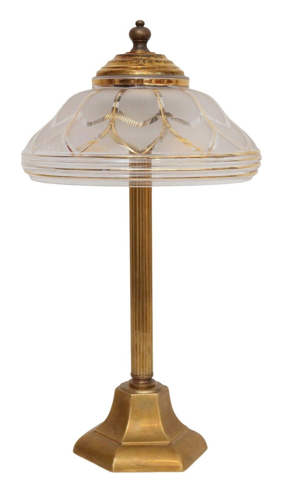Petite Elegante Tipo Deco Tschleuchte Lampada in Ottone Berlino Lampada
