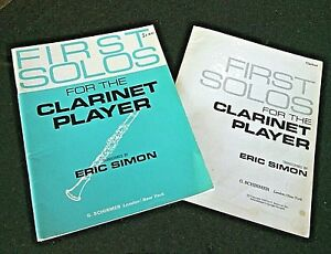 First-Solos-Clarinet-Player-Book-Music-Performing-Arts-Softcover-Illustrated