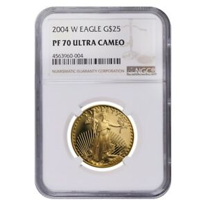 2004-W-1-2-oz-25-Proof-Gold-American-Eagle-NGC-PF-70-UCAM