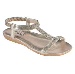 Womens-Sandals-Shoes-By-Emma-Patchouli-Gold-strappy-sandal-Size-3-8-New-in-Box